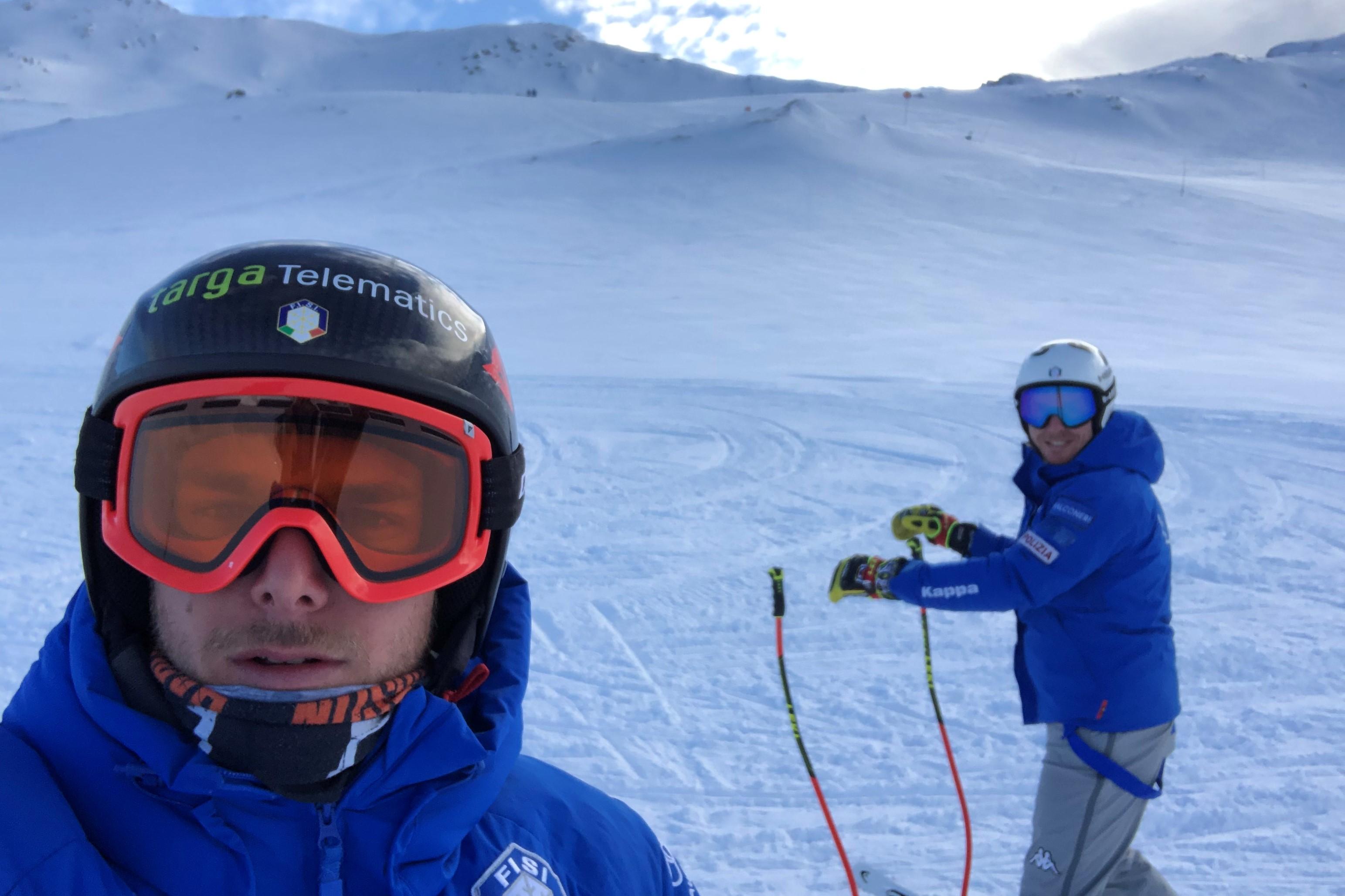 Che bello rimettere gli sci lunghi!